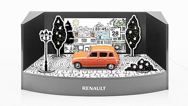 Renault drive calendar