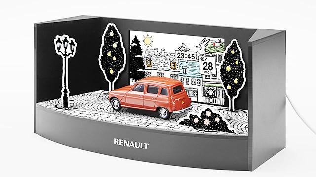 Renault drive calendar diorama