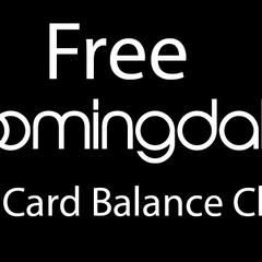 Free Check Your Bloomingdale's Gift Card Balance