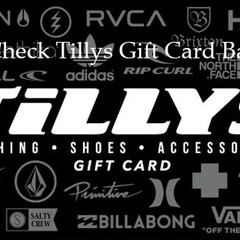 Free Check The Balance  On  Your Tilly's Gift Card