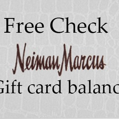 Free Check Your Neiman  Marcus Gift Card Balance