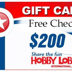 Check Your Free Hobby  Lobby Gift Card Balance