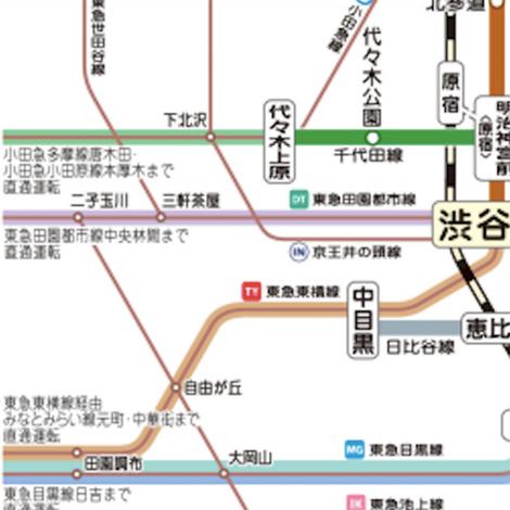 東京 メトロ 千代田 線 路線 図
