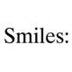 Smiles: BLOG
